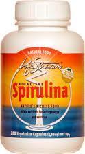 3 PACK OF Lifestream Spirulina Vegicaps 100