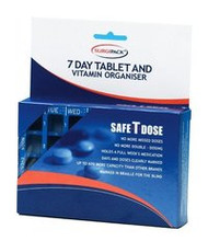 3 PACK OF Surgipack 7 Day Tablet & Vitamin Organiser