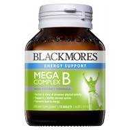 3 PACK OF Blackmores Mega B Complex 75 Tablets