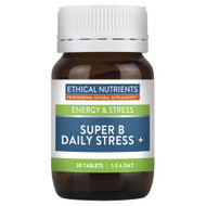 3 PACK OF Ethical Nutrients Super B Daily Stress + 30 Tablets