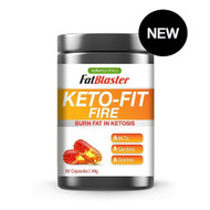 3 PACK OF Naturopathica FatBlaster Keto-Fit Fire 60 Capsules