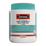 3 PACK OF Swisse Odourless High Strength Wild Fish Oil 1500mg 400 Capsules