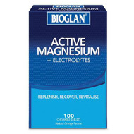 Bioglan Magnesium + Electrolyte 100 Chewable Tablets