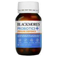 Blackmores Probiotics+ Immune Defence 30 Capsules