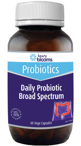 Henry Blooms Daily Probiotic Broad Spectrum 60 Capsules