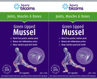 Henry Blooms Green Lipped Mussel 120 Capsules Twin Pack