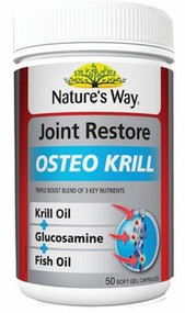 Natures Way Joint Restore Osteo Krill Tablets 50