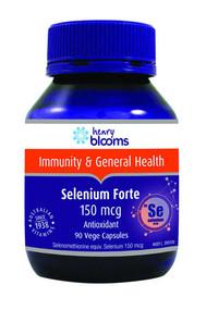 Henry Blooms Selenium Forte 150mcg 90 Capsules