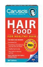 Caruso's Hair Food Capsules 30