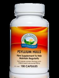 Natures Sunshine Psyllium Hulls 100 Capsules