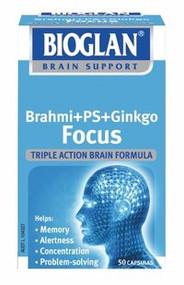 Bioglan Brahmi + Ps + Ginkgo Focus Capsules 50