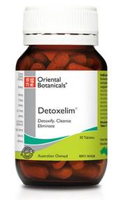 Oriental Botanicals Detoxelim 30 Tablets