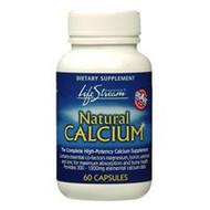 Lifestream Natural Calcium Capsules 60