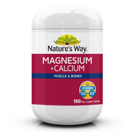 Natures Way Magnesium + Calcium 150 Tablets