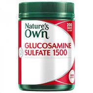 Nature's Own Glucosamine Sulfate 1500mg Tablets 200