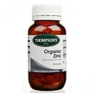 Thompsons Organic Zinc Tablets 180