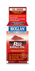Bioglan Red Krill Oil Triple Action 500Mg Capsules 30