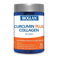 Bioglan Curcumin Plus Collagen For Joints 60 Tablets