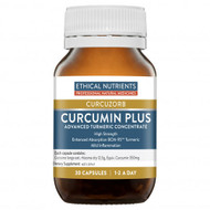 Ethical Nutrients Curcuzorb Curcumin Plus 30 Tablets