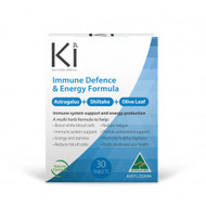 Ki Immune Defence & Energy Formula 30 Tablets