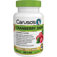 Caruso's Cranberry 30000 Tablets 90
