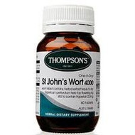 Thompsons St Johns Wort 4000Mg Capsules 60