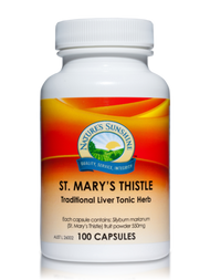 Natures Sunshine St Mary's Thistle 100 Capsules