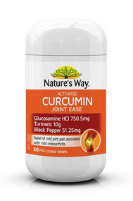 Nature's Way Activated Curcumin Joint Ease 50 Tablets