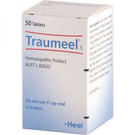 Traumeel Homeopathic Natural Anti-Inflammatory 50 Tablets