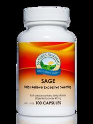 Natures Sunshine Sage 100 Capsules
