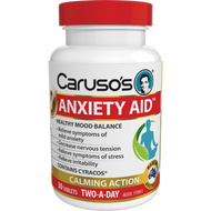 Carusos Anxiety Aid 30 Tablets