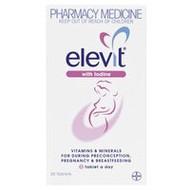 Elevit With Iodine Tablets 30