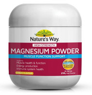 Natures Way High Strength Magnesium Powder 210g