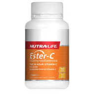 Nutra Life Ester-C 1000mg + Bioflavonoids 100 Tablets