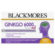 Blackmores Ginkgo 6000mg Tebonin 30 Tablets