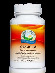 Natures Sunshine Capsicum 100 Capsules