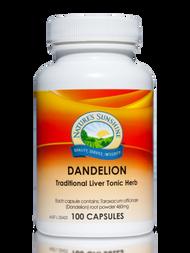Natures Sunshine Dandelion 100 Capsules