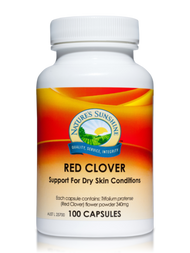 Natures Sunshine Red Clover 100 Capsules