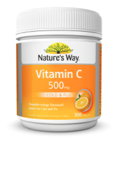 Natures Way Vitamin C 500mg Tablet 500