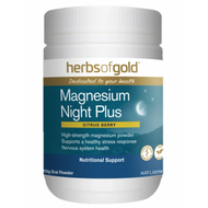 Herbs Of Gold Magnesium Night Plus 150g