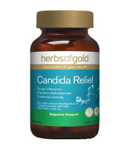 Herbs Of Gold Candida Relief 60 Tablets
