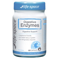 Life Space Digestive Enzymes 60 Capsules