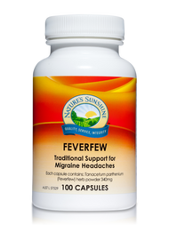 Natures Sunshine Feverfew 100 Capsules