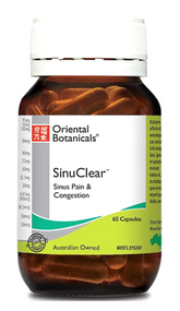 Oriental Botanicals Sinuclear 60 Capsules