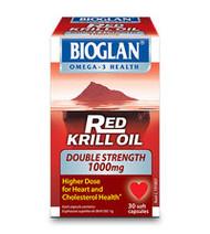 Bioglan Red Krill Oil Double Strength 1000Mg Capsules 30