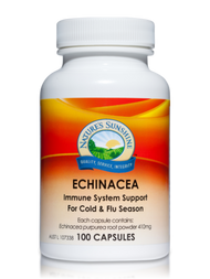Natures Sunshine Echinacea 100 Capsules
