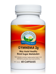 Natures Sunshine Gymnema 2g 60 Capsules