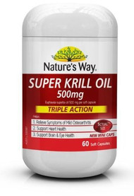 Natures Way Super Krill Oil 500mg 60 Tablets