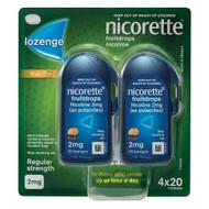 Nicorette Fruitdrops Lozenge 2mg 80 Pack