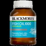 Blackmores Fish Oil 1000 Odourless 400 Capsules